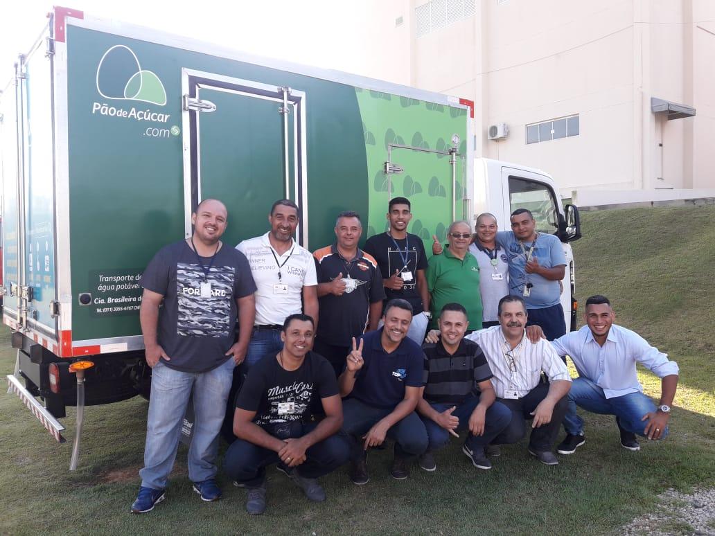 Programa de Direção Segura e Econômica no Transporte Grupo Pão de Açúcar