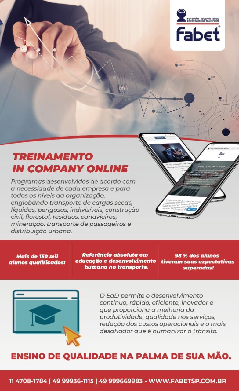 """Fabet-SP oferece cursos """"in company"""" on-line e personalizados"""